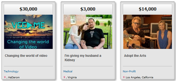 FundAnything is a website that lets you do exactly what it sounds like — raise money for anything you want to raise money for.