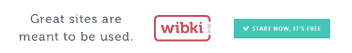 Wibkis social discovery concept allows you to discover the web from friends and other Wibki users.