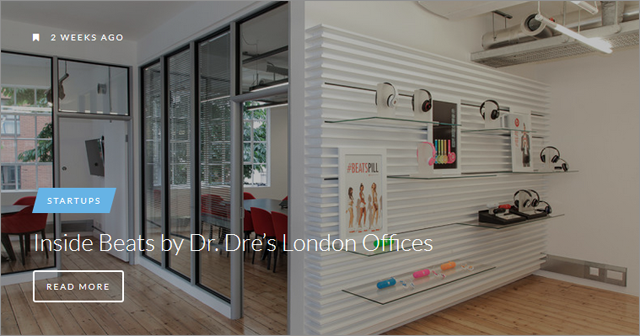 Officelovin is pure fun for any tech or design enthusiast, go on then and check it out.