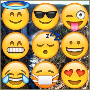 Emojis and Earth Porn is a fun and easy interactive game with images from Reddits Earth Porn subreddit.
