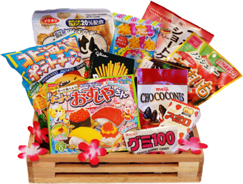 Japan Crate - you can never be sure exactly what youre going to get in your box