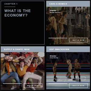 We The Economy was created via a partnership between Paul G. Allens Vulcan Productions and Morgan Spurlocks Cinelon.