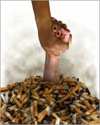 Smoking is a nasty habit, and one that hopefully everyone will break sooner rather than later.