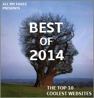 Best of 2014 - Top 10 Cool Websites of the Year