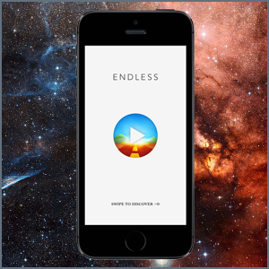 Endless is a simple way to discover the world by bringing you great hand-picked content from Wikipedia.