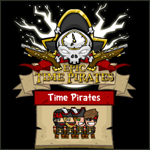Epic Time Pirates is an arena based shooting flash game where you shoot your way through a fast paced and brutal battle against other teams.