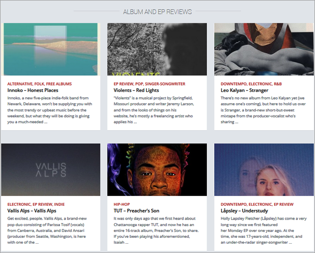 Hillydilly is a music discovery site that prides itself on its curation services.