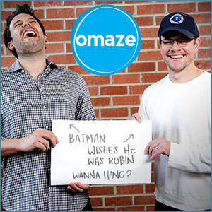 Omaze is a platform allowing users to win once-in-a-lifetime experiences with artists, athletes and celebrities while donating to social causes.