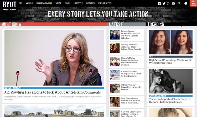 RYOT - Read News, Take Action