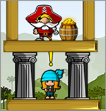 Siege Hero - Pirate Pillage - The Pirates are Here, Shoot 'Em!