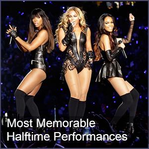 The 10 Most Memorable Super Bowl Halftime Performances