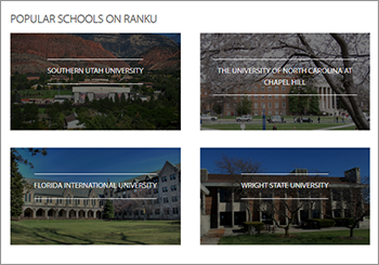 There's a fairly broad list of schools offering unique degree programs that is hosted on Ranku