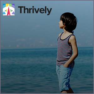 Thrively helps children uncover their genius — that combination of passion and unique strengths in which they absolutely thrive.