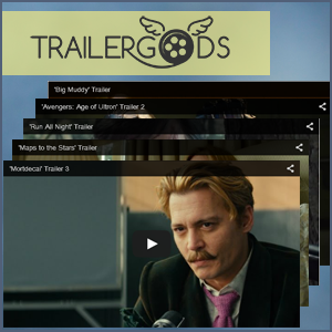 Trailer Gods hosts all of the newest and most popular feature film trailers.