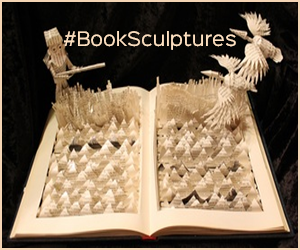 booksculptures