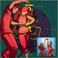Bounden: Game Oven's whimsical dancing game for two players, with choreography by the Dutch National Ballet.