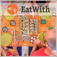EatWith is a global community that lets you enjoy authentic and intimate dining experiences in people's homes.