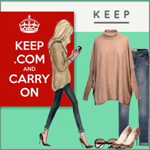 Keep is the place to go when you want to discover and buy the latest trends in fashion, decor, accessories, and design.
