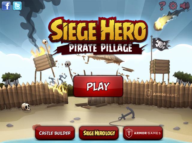 Siege Hero - Pirate Pillage