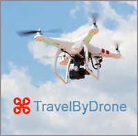 TravelByDrone: Video footage taken from drones, flown by members of the public for the enjoyment of everyone