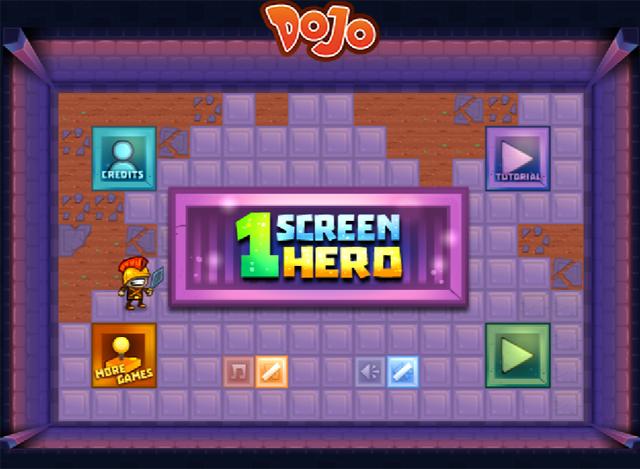 1 Screen Hero