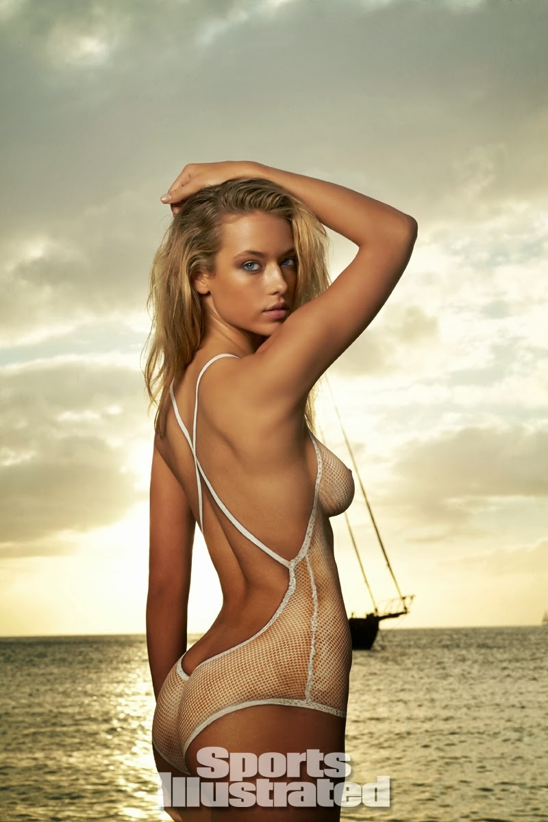 Hannah Ferguson Body Paint