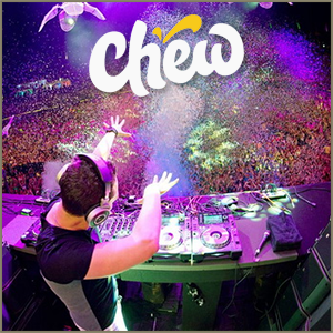 Chew is a platform to watch the best DJs perform live, anywhere in the world.