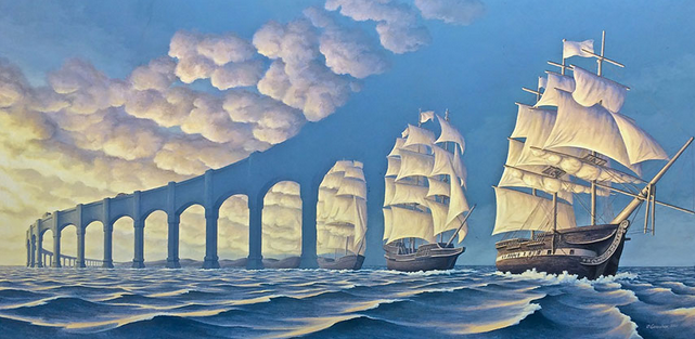 Rob Gonsalves Optical Illusions