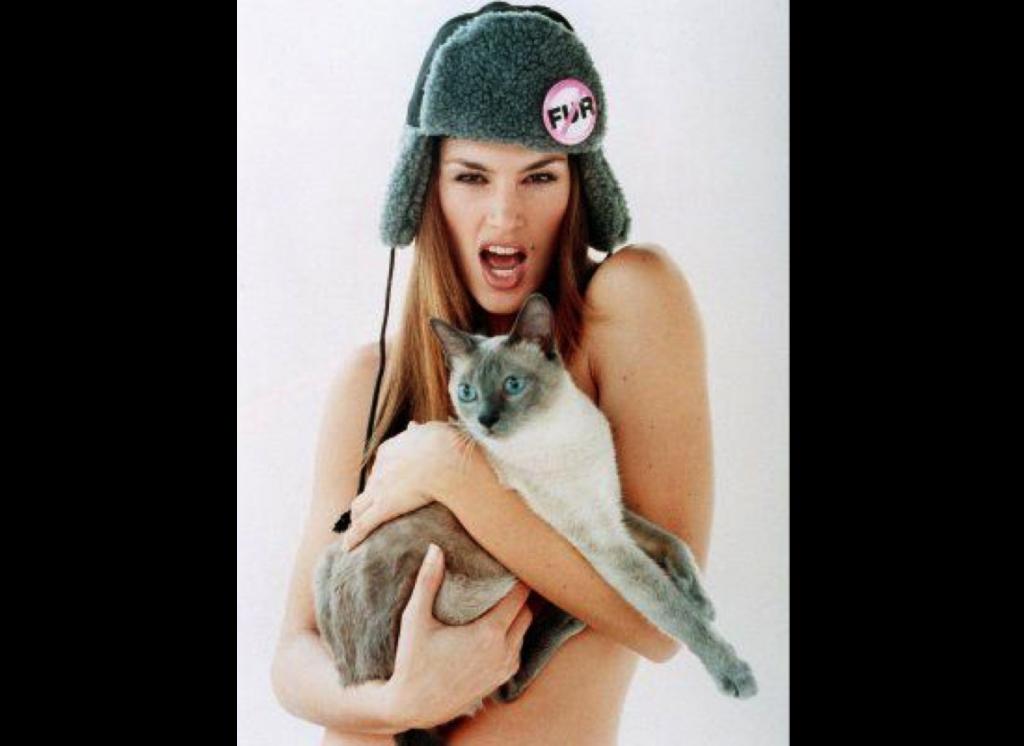 Cindy Crawford, PETA