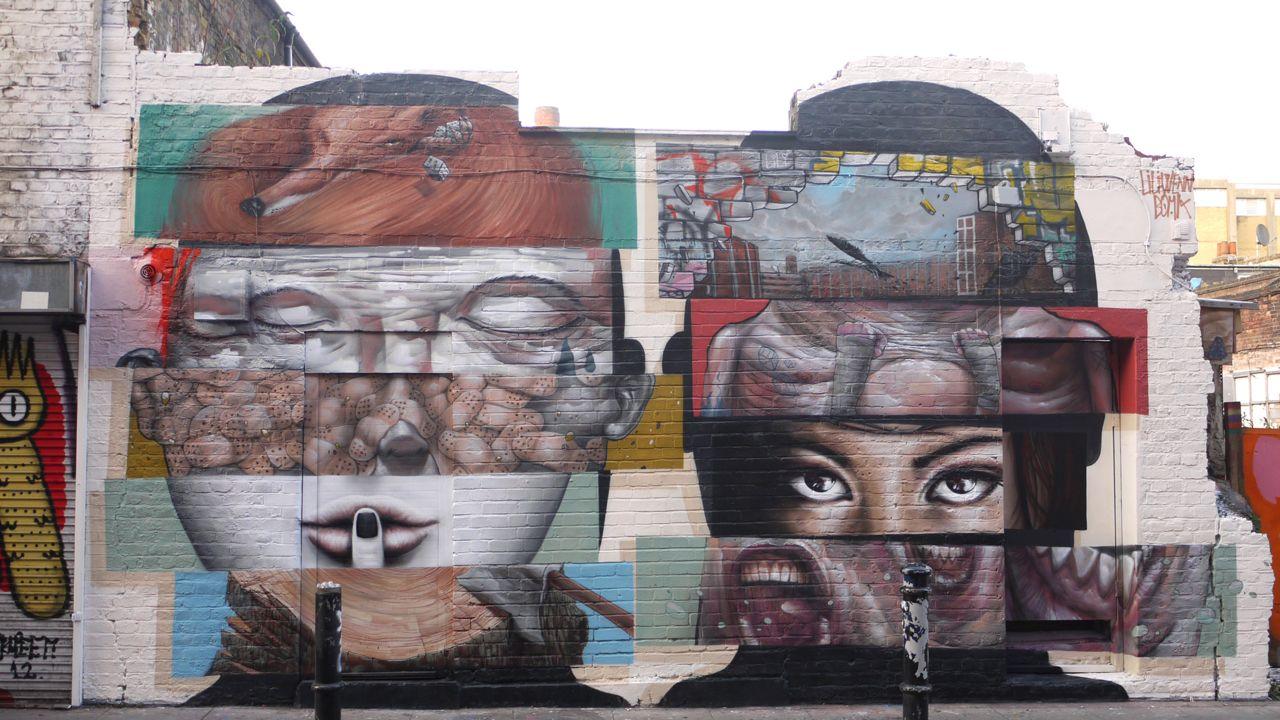 Bom.K & Liliwenn - Hanbury Street London