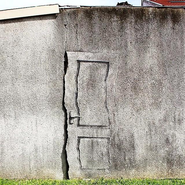 Pejac - Paris Door
