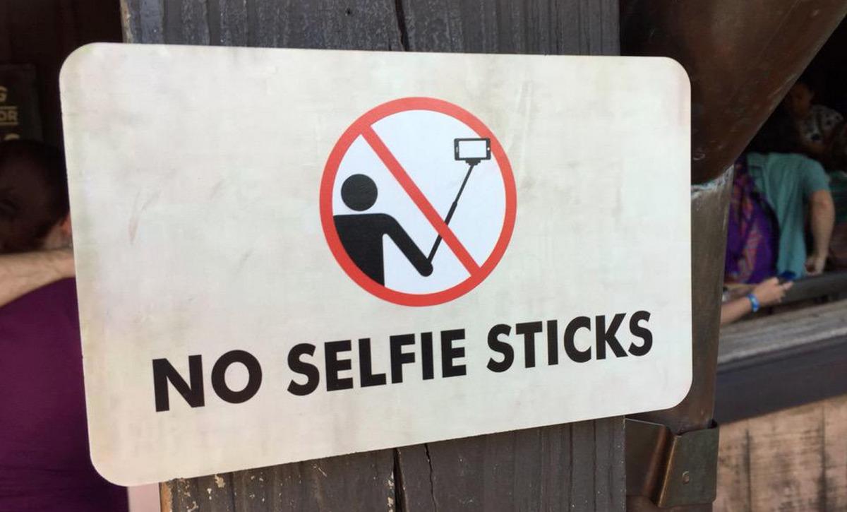 no-selfie-sticks