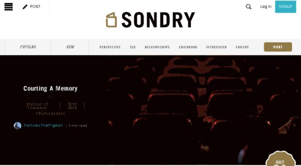 sondry