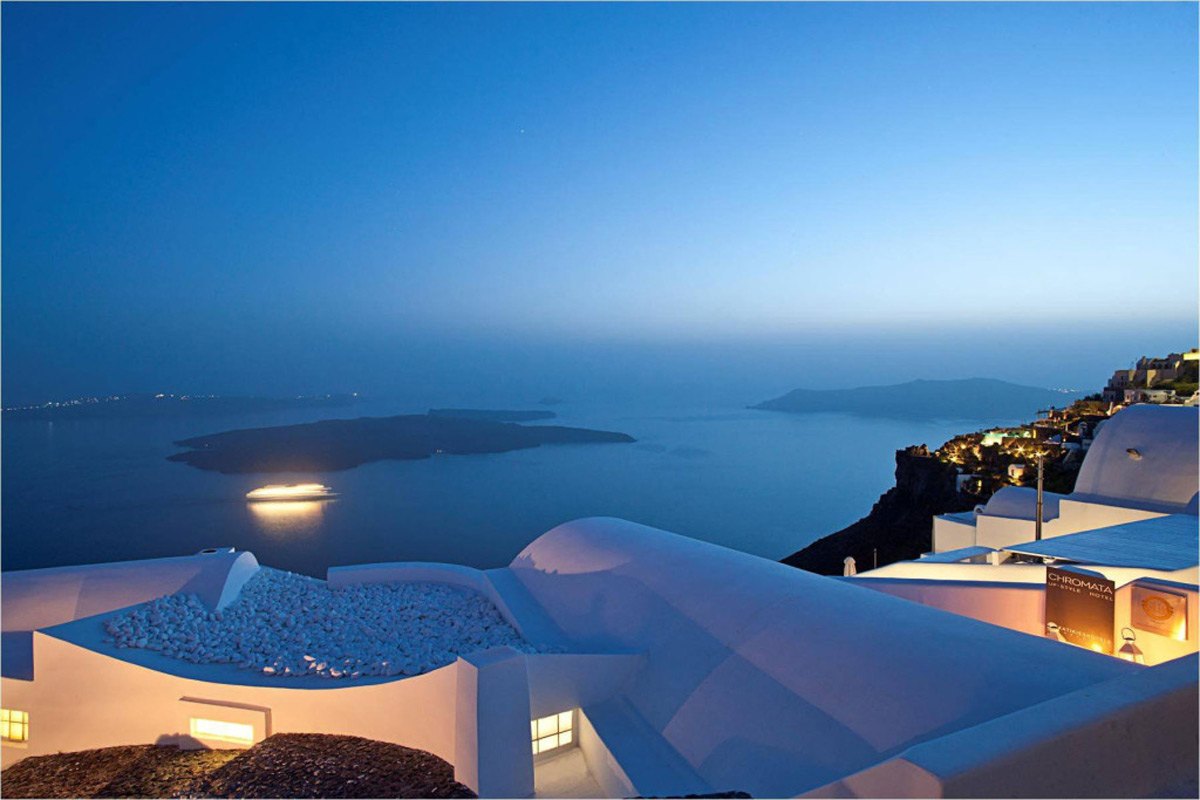 Katikies Hotels in Oia, Greece