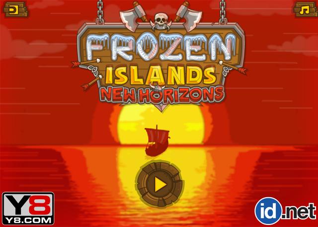 Frozen Islands - New Horizons