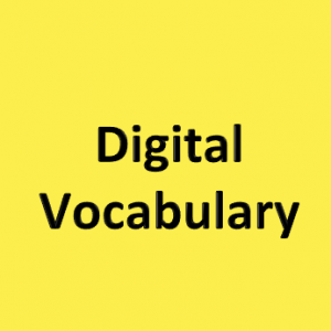Digital Vocabulary