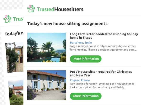 I recently searched Trusted House Sitters site hoping to find pet sitters for my 2 small dogs while I was away. It was over Christmas, , they allowed me to view sitters location and /10(6).