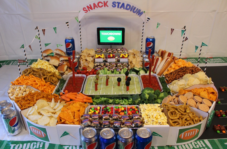 Supreme snack stadium