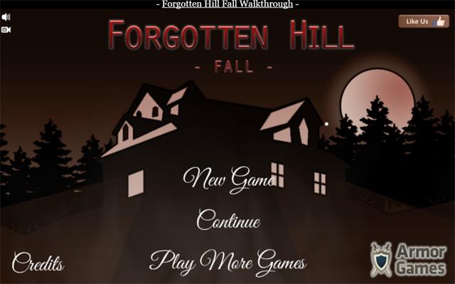 Forgotten Hill Fall