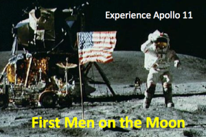 First Men on the Moon: Experience Apollo 11