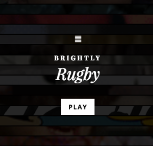 We Are Brightly: Rugby