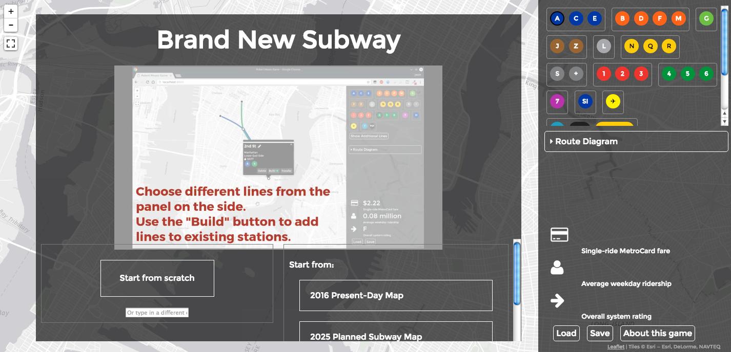 Brand New Subway