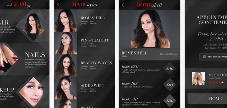 The Glam App Beauty On Demand
